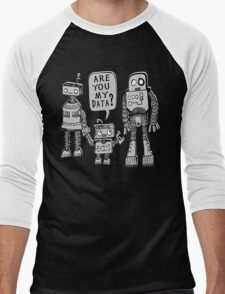 My Data? Robot Kid Men's Baseball ¾ T-Shirt