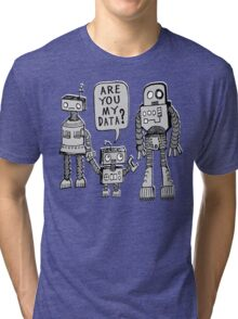 My Data? Robot Kid Tri-blend T-Shirt