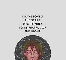 Freckles like Constellations by fallingjaegers