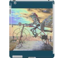 Frog Cycling, Sculptures By The Sea, Australia 2011 iPad Case/Skin