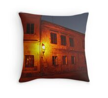 ...along come Night... Throw Pillow