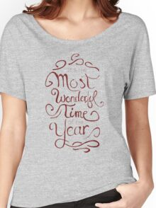 The Most Wonderful Time Women's Relaxed Fit T-Shirt