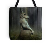 Portrait of a Kangaroo Tote Bag