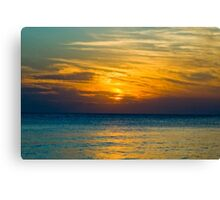 Dusk at Siesta Key Canvas Print