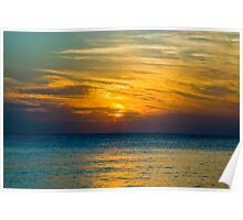 Dusk at Siesta Key Poster