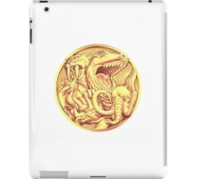 Mighty Morphin Power Rangers Megazord Coin iPad Case/Skin