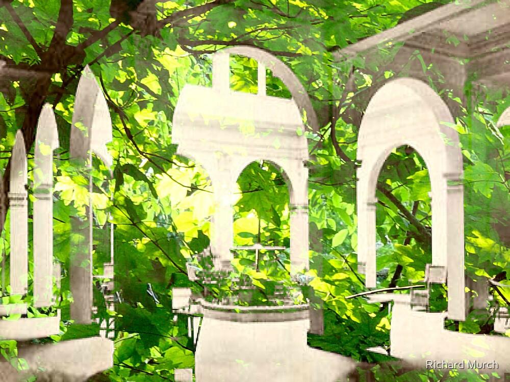The Enchanted Courtyard by Richard Murch