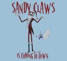 Sandy Claws Kids Tee