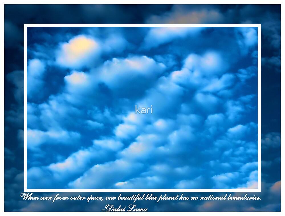 Beautiful Blue by kari