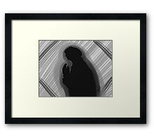 The Shadow Framed Print