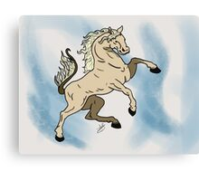 The Steed Canvas Print