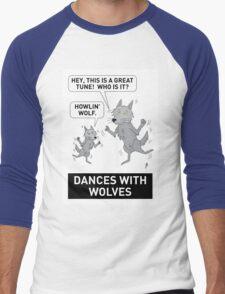 DANCES WITH WOLVES Men's Baseball ¾ T-Shirt
