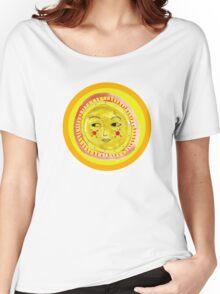 Sun Face Look Left Women's Relaxed Fit T-Shirt