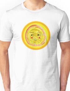 Sun Face Look Left Unisex T-Shirt