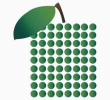 Green Apple One Piece - Long Sleeve