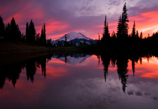 Red Sky at Night by DawsonImages
