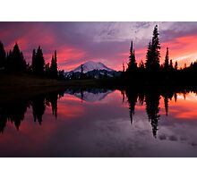 Red Sky at Night Photographic Print