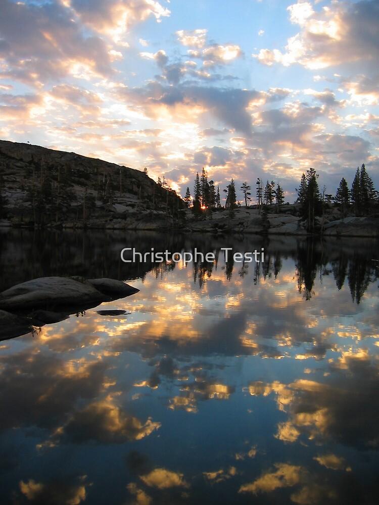 Paradise Lake at Sunrise by Christophe Testi