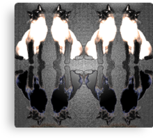 Siamese Reflections Canvas Print
