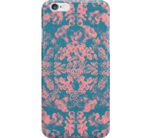 Great Barrier Reef ( pink ) coral pattern iPhone Case/Skin