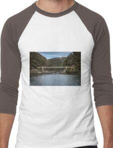 Cataract Gorge Tasmania Men's Baseball ¾ T-Shirt
