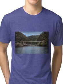 Cataract Gorge Tasmania Tri-blend T-Shirt