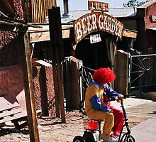 Lucked Out Rodeo Clown by Michael Naylor