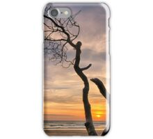 Lone Tree Sunrise iPhone Case/Skin