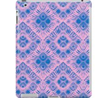 Graphic Shell Pattern Purple iPad Case/Skin