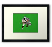 The Warrior Framed Print