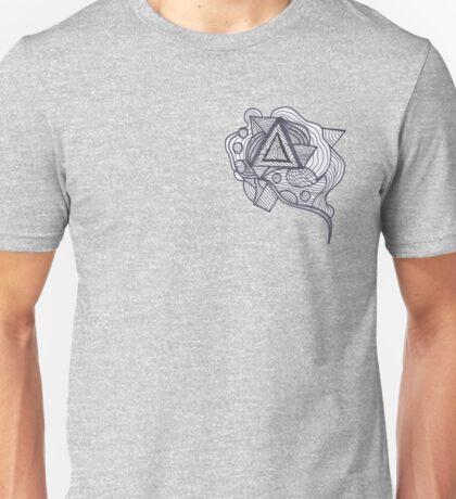 Zentangle Geometric Art Unisex T-Shirt