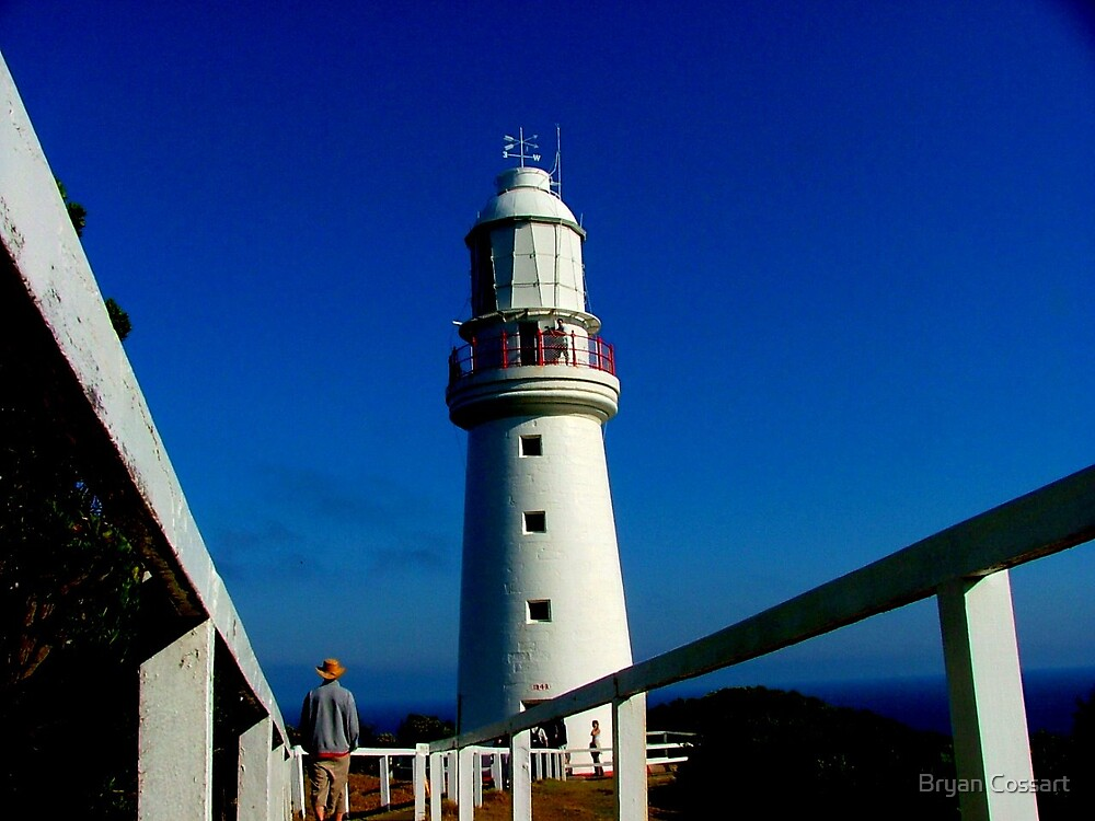 Cape Otway Lighthouse by Bryan Cossart