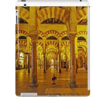 Arches and Pillars of The Mezquita, Cordoba, Spain iPad Case/Skin