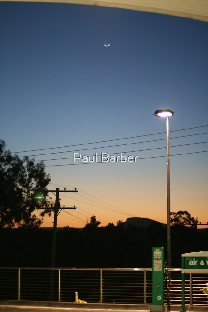 Servo Sunset by Paul Barber