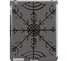 Veldismagn, Icelandic Magical Binding Rune, Protection, Lucky Charm iPad Case/Skin