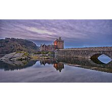 Eilean Donan Castle - November 2014 Photographic Print
