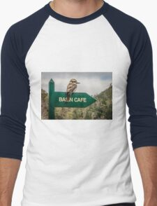 Cataract Gorge Kookaburra Men's Baseball ¾ T-Shirt