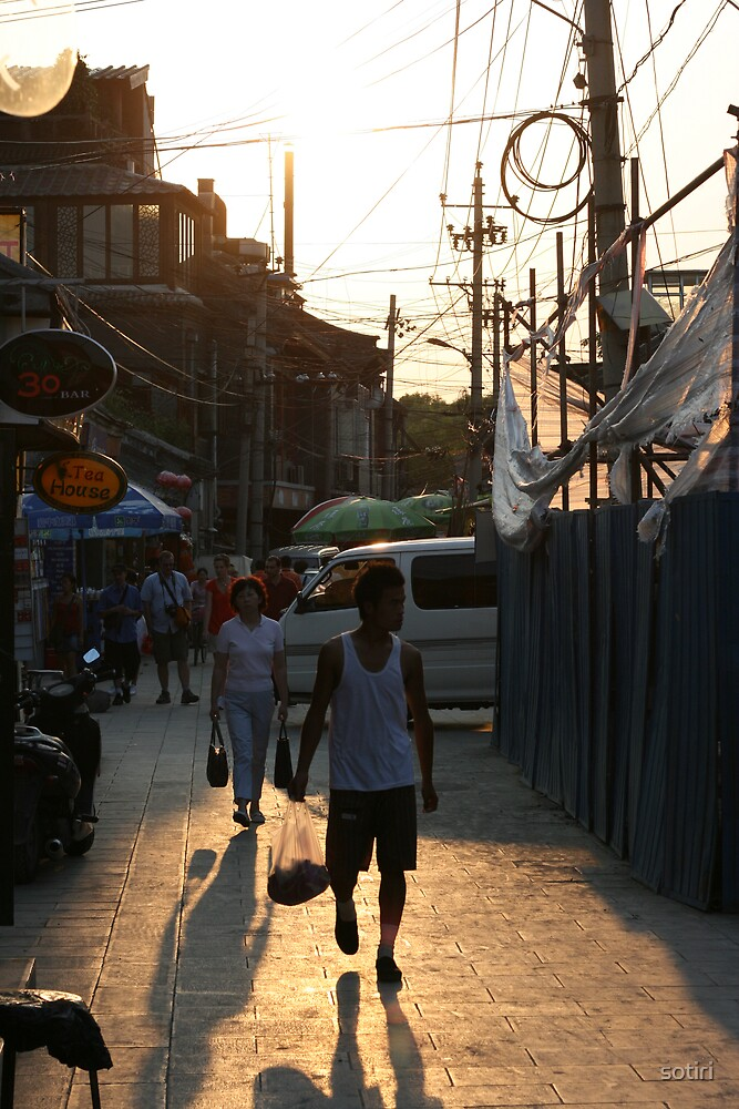 Streets of China by sotiri