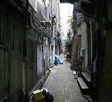 Hong Kong Alley by sotiri