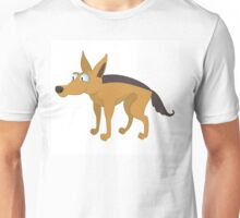 Cute cartoon jackal Unisex T-Shirt