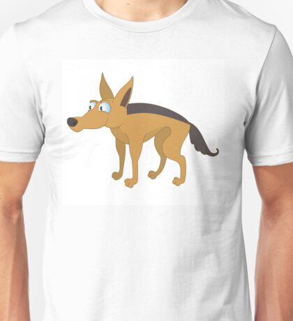 Cute cartoon jackal Unisex T-Shirt