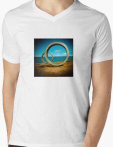 o-O! Mens V-Neck T-Shirt