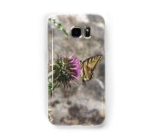 Butterfly, Western Tiger Swallowtail Samsung Galaxy Case/Skin