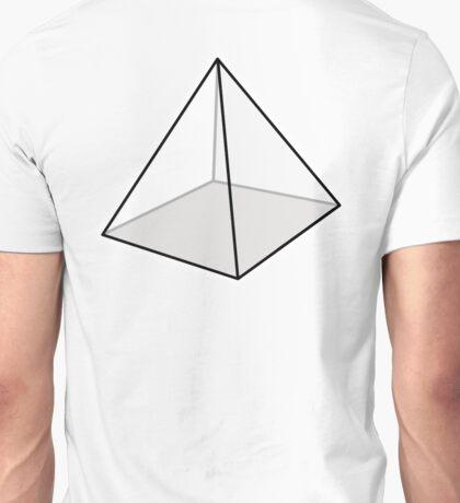 PYRAMID, Square, Geometry Unisex T-Shirt