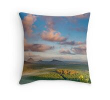 Beerwah, Coonowrin & Ngungun Throw Pillow