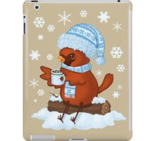 Christmas Cardinal iPad Case/Skin