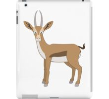 Cute cartoon gazelle iPad Case/Skin