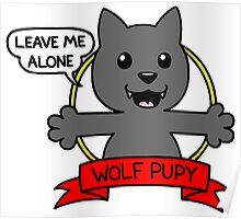 wolf pupy  Poster