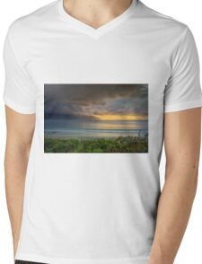 Eaglehawk Neck, Tasmania, Sunrise Mens V-Neck T-Shirt