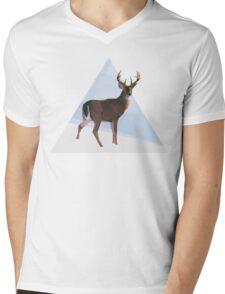 Reindeer winter wonderland Mens V-Neck T-Shirt